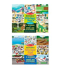 Melissa & Doug® Reusable Sticker Bundle - Vehicle/Habitat