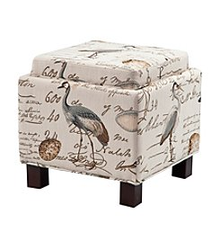 Madison Park® Liaison Multi Square Storage Ottoman with Pillows