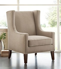 Madison Park® Belmont Linen Wing Chair