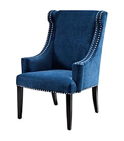 Madison Park® Marcel Blue High Back Wing Chair