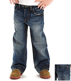 Lee® Boys' 2-7 Bayou Dark Belted Bootcut Jeans