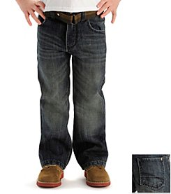 Lee® Boys' 4-7 Prowler Medium Belted Bootcut Jeans