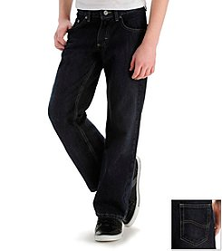 Lee® Boys' 8-20 Ink Dark Dark Relaxed Straight Jeans