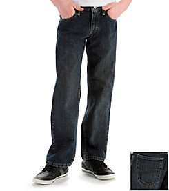 Lee® Boys' 8-20 Dark Quartz Relaxed Straight Jeans