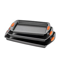 Rachael Ray® Yum-o! Nonstick Bakeware 3-pc. Oven Lovin' Cookie Pan Set