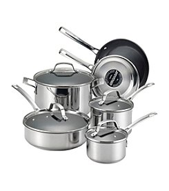 Circulon® Genesis 10-pc. Stainless Steel Nonstick Cookware Set
