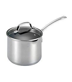 Circulon® Genesis 3-qt. Stainless Steel Nonstick Covered Straining Saucepan