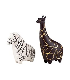 kate spade new york® Woodland Park Zebra and Giraffe Salt and Pepper Shakers