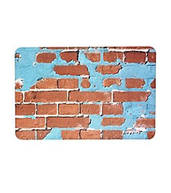 Bungalow Flooring New Wave Painted Brick Floor Mat