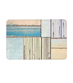 Bungalow Flooring New Wave Patchwork Wood Floor Mat