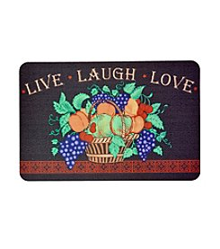 Bungalow Flooring New Wave Live, Laugh and Love Floor Mat