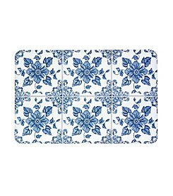 Bunglaow Flooring New Wave Delft Flower Floor Mat