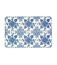 Bunglaow Flooring New Wave Delft Flower Floor Mat