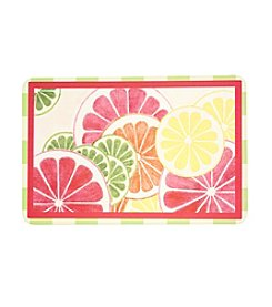 Bungalow Flooring New Wave Fresh Citrus Floor Mat