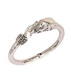 Lucky Brand® Silvertone Cuff Bracelet