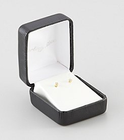 Designs by FMC 14K Gold 1/8 ct. t.w. Diamond Stud Earrings
