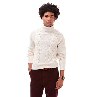 Download image white cable turtleneck sweater men pc android iphone