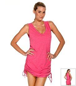 ECO SWIM by Aqua Green® Shirred Dress