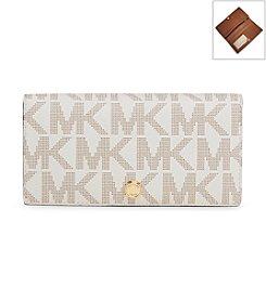 MICHAEL Michael Kors® Signature Large Slim Wallet