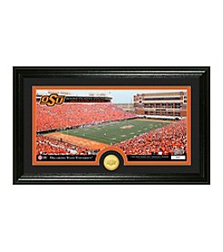 Oklahoma State University Stadium Bronze Coin Panoramic Photo Mint by Highland Mint