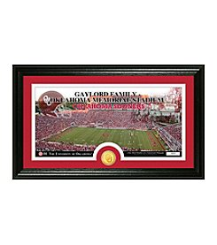 University of Oklahoma Stadium Bronze Coin Panoramic Photo Mint by Highland Mint