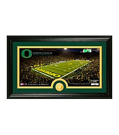 University of Oregon Stadium Bronze Coin Panoramic Photo Mint by Highland Mint
