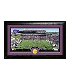 NCAA® Kansas State University Stadium Bronze Minted Coin Panoramic Photo