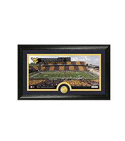 West Virginia University Stadium Bronze Coin Panoramic Photo Mint by Highland Mint