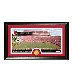 University of Louisville Stadium Bronze Coin Panoramic Photo Mint by Highland Mint