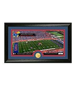 NCAA® University of Kansas Stadium Bronze Coin Panoramic Photo Mint