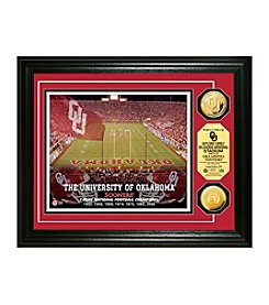 University of Oklahoma Stadium Gold Coin Photo Mint by Highland Mint