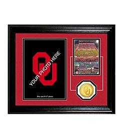 University of Oklahoma Fan Memories Desktop Photo Mint by Highland Mint