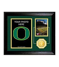 University of Oregon Fan Memories Desktop Photo Mint by Highland Mint