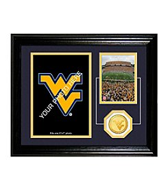 West Virginia University Fan Memories Desktop Photo Mint by Highland Mint