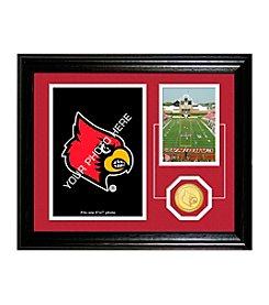 University of Louisville Fan Memories Desktop Photo Mint by Highland Mint