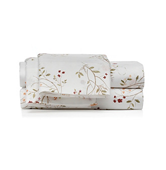 Product: LivingQuarters Easy Care Floral Springs Microfiber Sheet Sets