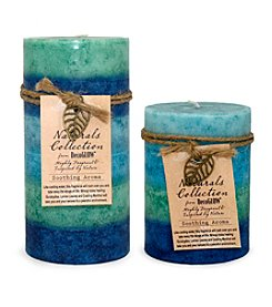 Deco Glow Soothing Fragrance Pillar Candle