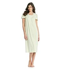Aria® Knit Ballet Gown - Mint Dot