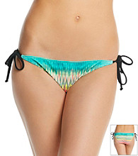 Hurley® Stagger Printed Side Tie Swim Bottoms