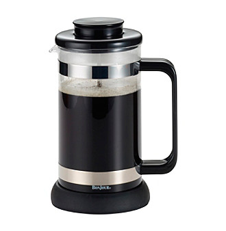 BonJour® Coffee and Tea 8-Cup Black Riviera French Press