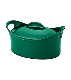 Rachael Ray® 4.25-qt. Fennel Covered Oval Casserole Dish