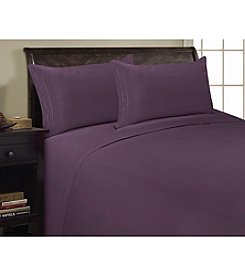 BELLEONE Three-Line Microfiber Sheet Set