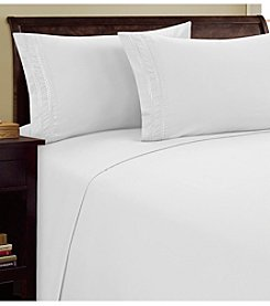 BELLEONE Chain Link Microfiber Sheet Set