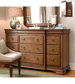 Universal Furniture® New Lou Dresser & Mirror Collection