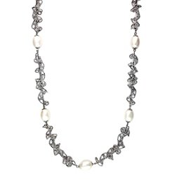 Effy® Freshwater Pearl Necklace in Sterling Silver