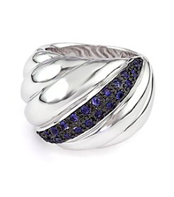 Effy® Sapphire Ring in Sterling Silver