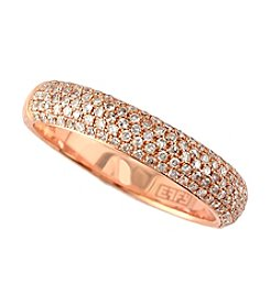 Effy® .49 ct. t.w. Diamond Band Ring in 14K Rose Gold