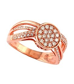 Effy® .44 ct. t.w. Diamond Ring in 14K Rose Gold