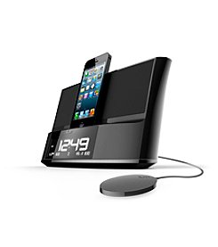 iLuv® TimeShaker Dual Alarm Lightning Dock for iPhone® 5