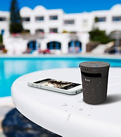 iLuv® MobiCup Splash-Resistant Bluetooth Speaker/Speakerphone